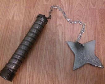 Replica Mace with Chain and Star
