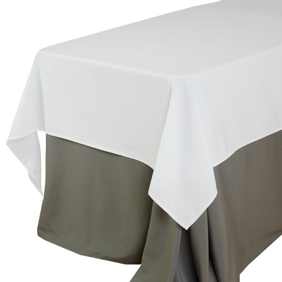 60 x 102 inches white rectangular tablecloths white table for 102 table runners