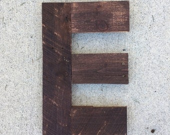 free ship large wood letters