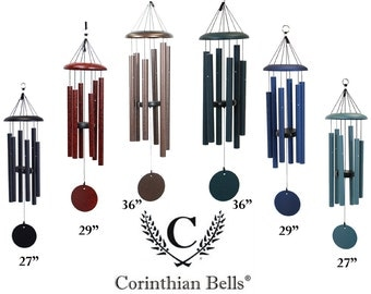 "Memorial Wind Chime, 27"" Wind Chime, Memorial, Loved Ones, Never Forgotten, Humboldt Engraving and Gifts, Corinthian Wind Chimes"