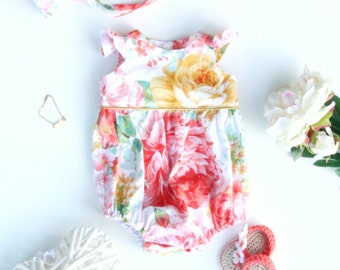 Amali Baby Romper / Playsuit  - Made to order