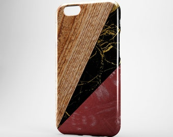 Gold Marble iPhone Case Red iPhone 7 Cover iPhone 7 Plus Case iPhone 6 Wood iPhone 6 Plus Case iPhone 5 iPod Black Marble Galaxy S6 S7 Case