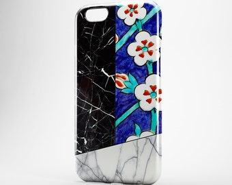 Morocco Phone Case Black Marble iPhone 7 Case iPhone 6 Case iPhone 7 Plus Case iPhone SE Flower iPhone 6 Plus Case White Marble iPhone 4-5