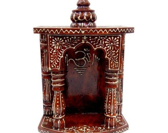 Wooden Temple/ Home Temple/ Pooja Mandir/ Pooja Mandap/ Temple for Home