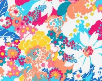 Bright Large Floral from Robert Kaufman's Laurel Canyon Collection
