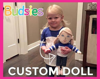 Custom Doll - photo to custom plush dolls, custom bobblehead, custom dolls from photo
