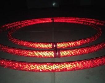 Honeycomb Reflective Gyro or Gimbal Hoop