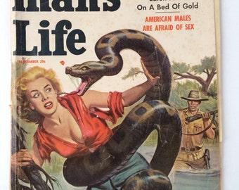Man's Life Magazine September 1957