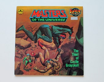 He-Man Masters of the Universe The Thief of Castle Grayskull Adventure Book 1983