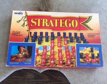 Vintage STRATEGO GAME, Chieftain Products Inc. Stratego Strategy Board Game