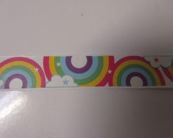 15mm x 10mm Rainbows and Clouds Washi Tape