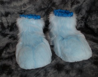 Custom Fursuit Feet Paws (Canine, Feline, Bear, Panda Etc.)
