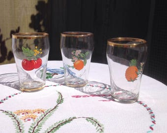 Britvic juice glasses