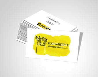 BUSINESS CARD (Arts & Crafts_003 Template)