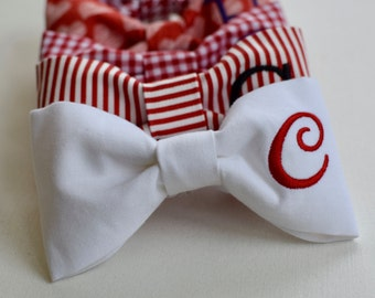 Pet Bow Tie || Personalized Dog Bow Tie || Custom Gift by Three Spoiled Dogs