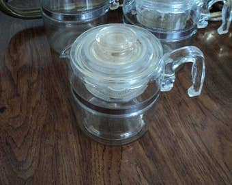 6-cup Pyrex coffee percolator