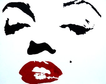 Awesome Marilyn Monroe Acrylic Painting   Marilyn Monroe Art   Marilyn Monroe Wall  Art   Marilyn Monroe Part 28