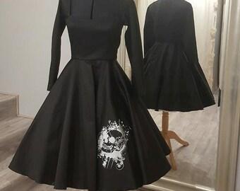 Dress pin-up Skull