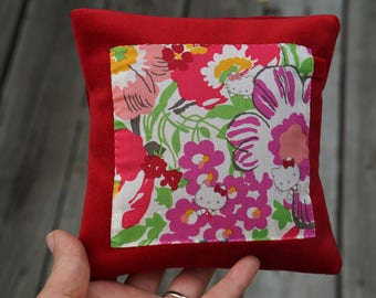 Liberty of london patchwork throw pillow cover
