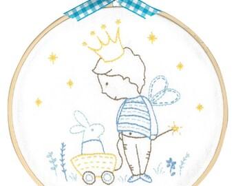 DMC Embroidery Kit - My Private Kingdom designed by Tamar Nahir-Yanai