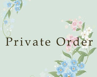 Private order for D