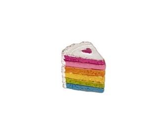 Fairy Garden  - Magical Rainbow Cake - Miniature