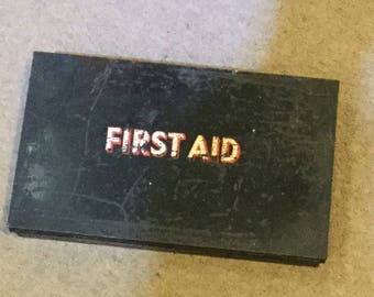 Vintage First Aid Tin