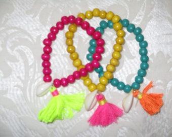 Lot of 3 nice Bohemian bracelets