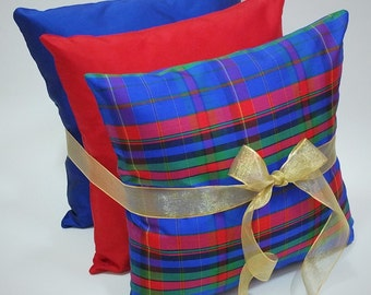 Silk cushion Gift set reduced 14 inch cushion pillow cover