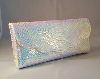 Mermaid Scales Purse - Sea Shiny Pastels Iridescent Wallet