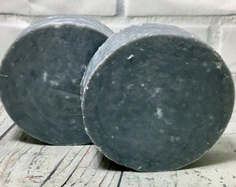 Activated Charcoal Soap, Natural Charcoal Soap, Handmade Charcoal Soap, Charcoal Face Soap, Charcoal Soap, Natural Soap, Vegan Soap, 3.5oz