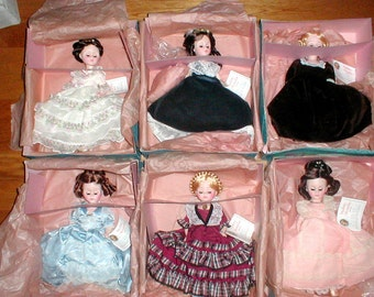 Six Madame Alexander First Lady Doll Collection Series II Dolls *Complete Series 2* In Boxes *Free Shipping*