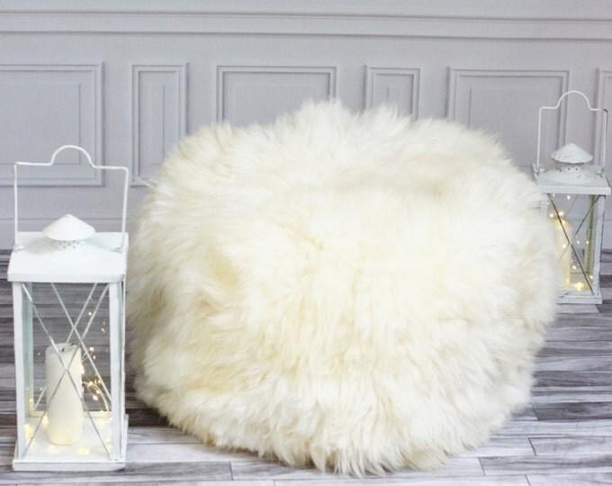 Sheepskin Beanbag | Sheepskin Bean Bag | Sheepskin Pouf | Bean Bag Furry Bean Bag | Kids Bean Bag | Beanbag | Floor Pillow |