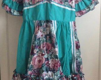1990s Square Dance Dress/Costume