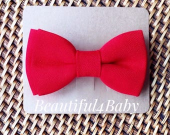 Red Baby Bow Tie, Toddler Bowtie,Infant Bow Tie,Toddler Bow Ties, Baby Bow, Baby Bows
