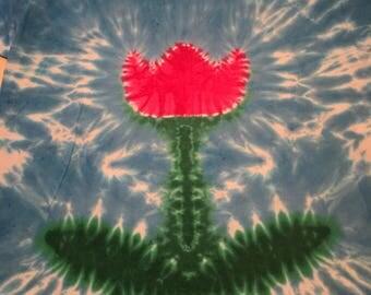 Exlarge  pink tulip tye dye adult  hanes tshirt exlarge Hand tyed tie dye