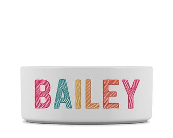dog bowl, custom dog bowl, cat bowl, personalized bowl, dog dish, ceramic pet bowl, custom pet bowl,