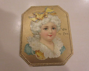 ANTIQUE LOVE GIFT Tag