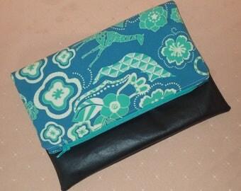 Gorgeous jungle clutch bag cosmetic bag