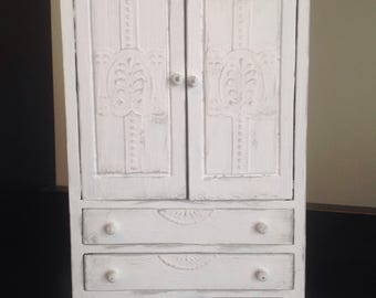 French Inspired Armoire Dollhouse Miniature