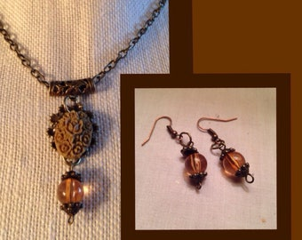 Coffee Flower Necklace