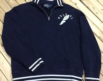 Ralph Lauren Half Zip Sweatshirt