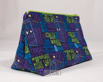 Bigger on the Inside Cosmetic Bag - Ready to Ship!