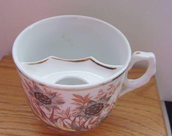 Vintage German Mustache Cup