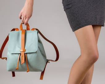 Leather backpack womens backpack backpack laptop backpack women backpack leather rucksack rucksack women's backpack travel backpack