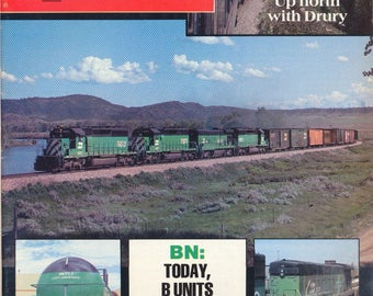 TRAINS NOVEMBER 1983 The Magazine of Railroading, Train Railroad Railroads Magazine!