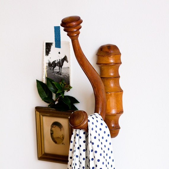 Classic French Wooden Wall Hook