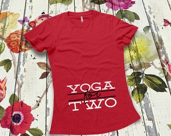 Yoga Maternity Shirt Pregnancy Announcement Shirt Gifts For Expecting Mothers Maternity Shirt Maternity Reveal Maternity Clothes MD-740