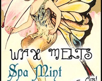Spa Mint - Wax Melts / Tarts - Love Potion Magickal Perfumerie