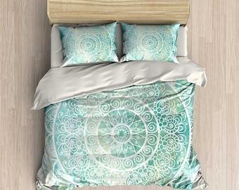 Mint Green Bedroom mint green bedroom | etsy